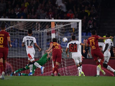 AS Roma 3-3 Genoa CFC