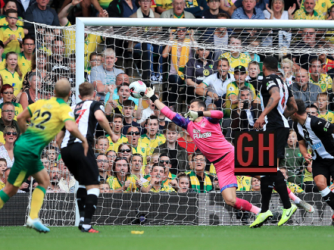 Norwich 3-1 Newcastle