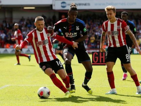 Sheffield United 1-0 Crystal Palace