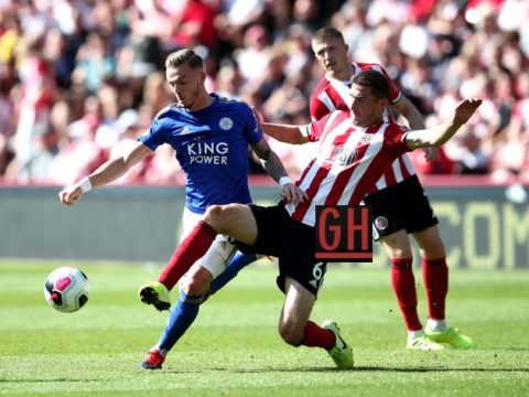 Sheffield United 1-2 Leicester City