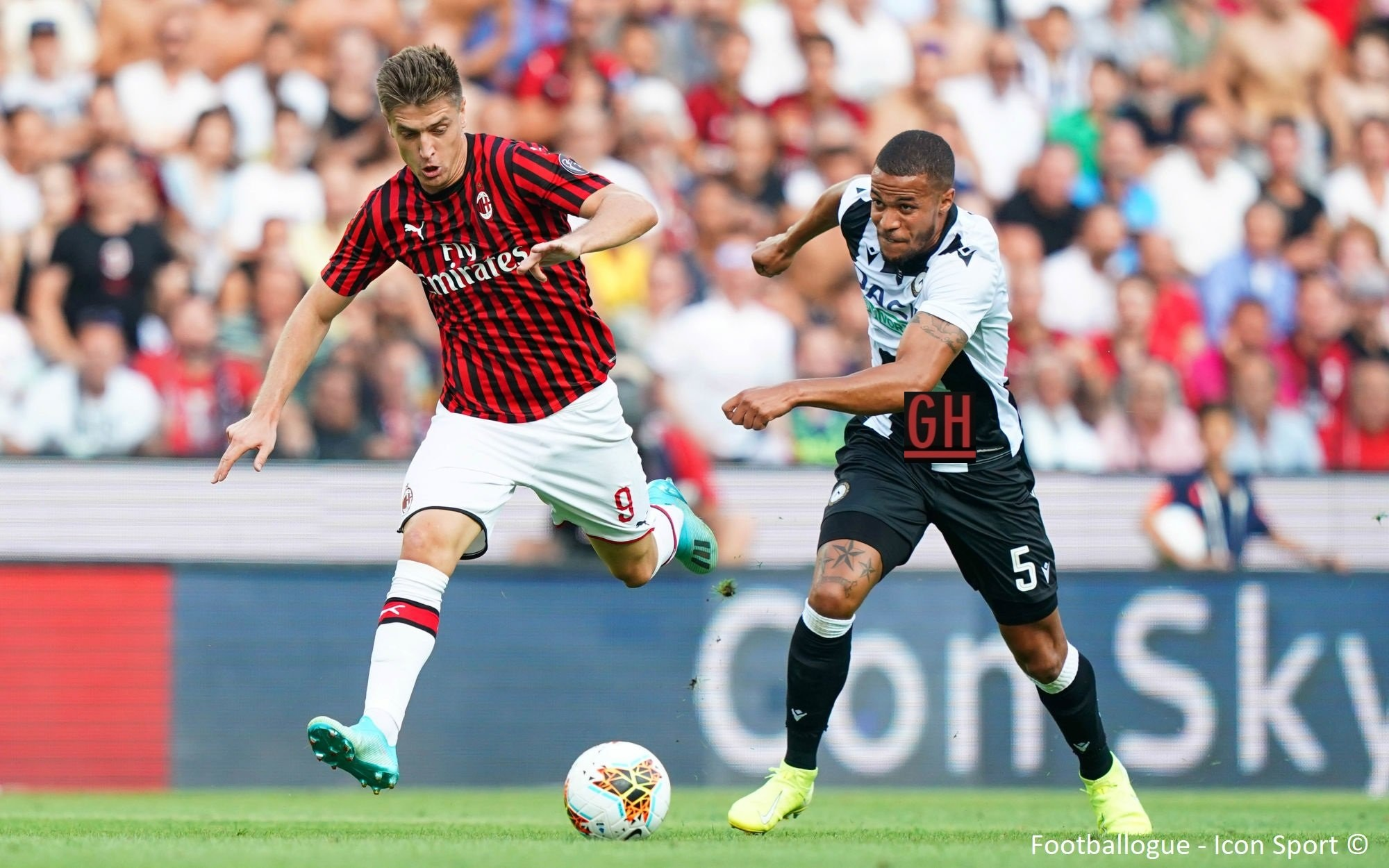 live udinese milan quote