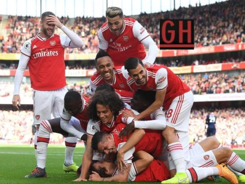 Arsenal 1-0 Bournemouth - Watch goals and highlights football Premier League 2019-2020