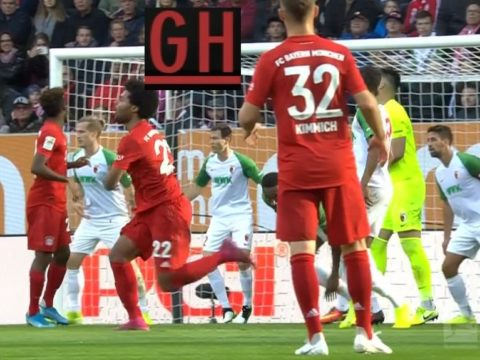 Augsburg 2-2 Bayern Munich - Watch goals and highlights football BundesLiga 2019-2020