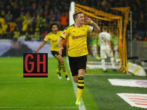 Borussia Dortmund 1-0 Monchengladbach - Watch goals and highlights football BundesLiga 2019-2020