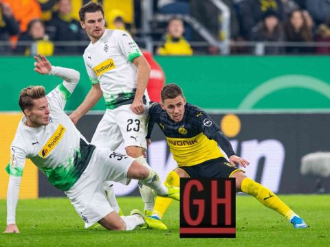 Borussia Dortmund 2-1 Mönchengladbach - Watch goals and highlights football DFB Pokal 2019-2020
