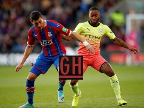 Crystal Palace 0-2 Manchester City - Watch goals and highlights football Premier League 2019-2020