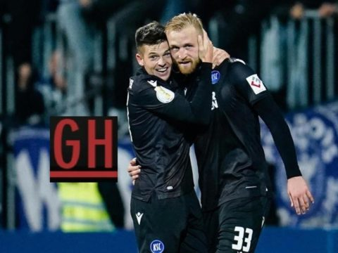 Darmstadt 0-1 Karlsruhe - Watch goals and highlights football DFB Pokal 2019-2020