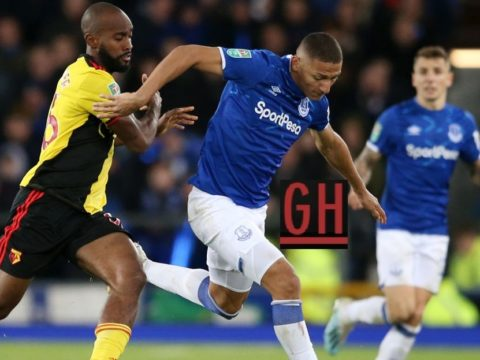 Everton 2-0 Watford - Watch goals and highlights football Carabao Cup 2019-2020