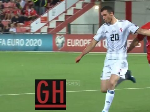 Gibraltar 2-3 Georgia - Watch goals and highlights football EURO 2020 Qualifiers