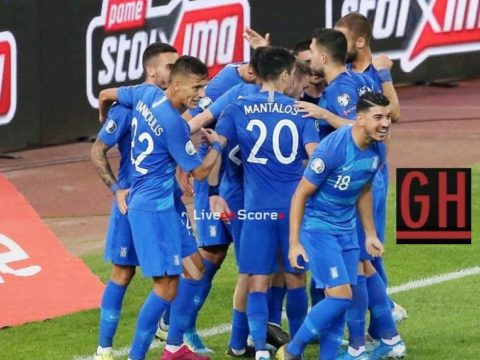 Greece 2-1 Bosnia and Herzegovina - Watch goals and highlights football EURO 2020 Qualifiers