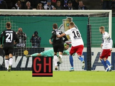 Hamburg 1-2 Stuttgart - Watch goals and highlights football DFB Pokal 2019-2020