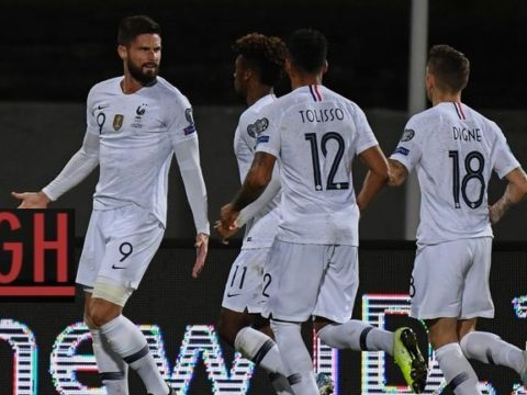 Iceland 0-1 France - Watch goals and highlights football EURO 2020 Qualifiers