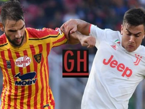 Lecce 1-1 Juventus - Watch goals and highlights football Serie A 2019-2020