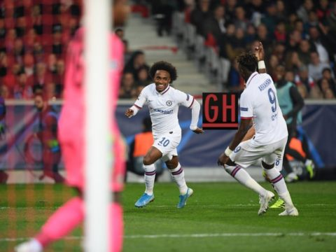 Lille 1-2 Chelsea