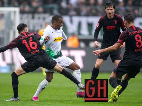 Mönchengladbach 5-1 Augsburg - Watch goals and highlights football BundesLiga 2019-2020