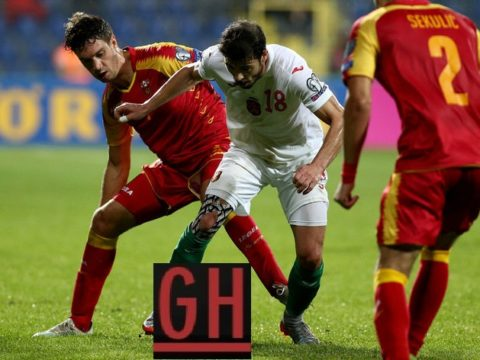 Montenegro 0-0 Bulgaria - Watch goals and highlights football EURO 2020 Qualifiers