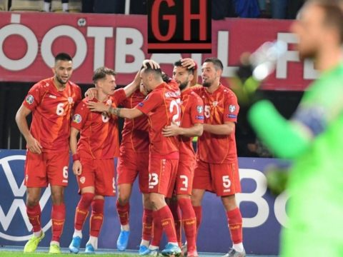 North Macedonia 2-1 Slovenia - Watch goals and highlights football EURO 2020 Qualifiers