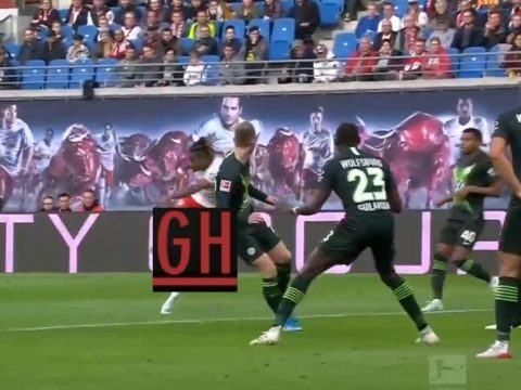 RB Leipzig 1-1 Wolfsburg - Watch goals and highlights football BundesLiga 2019-2020