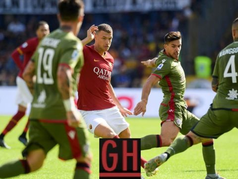 Roma 1-1 Cagliari - Watch goals and highlights football Serie A 2019-2020