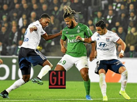 Saint-Etienne 1-0 Lyon - Watch goals and highlights football Ligue 1 Conforama 2019-2020