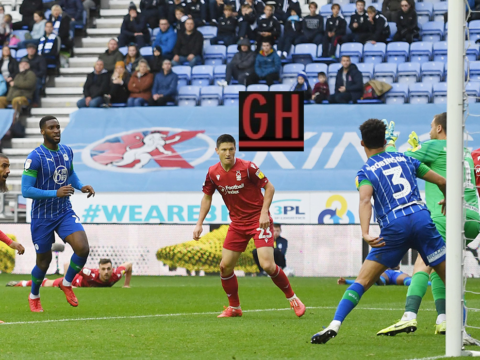 Wigan 1-0 Nottingham - Watch goals and highlights football Championship 2019-2020