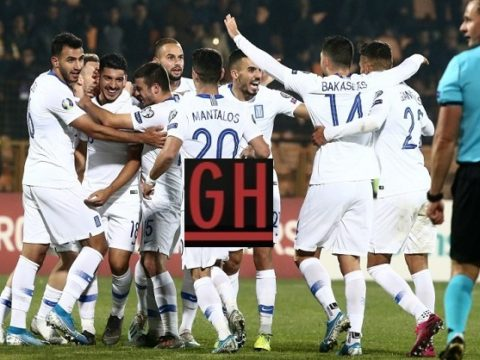 Armenia 0-1 Greece - Watch goals and highlights football EURO 2020 Qualifiers