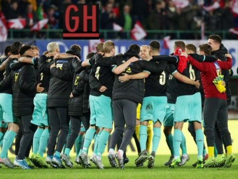 Austria 2-1 North Macedonia - Watch goals and highlights football EURO 2020 Qualifiers