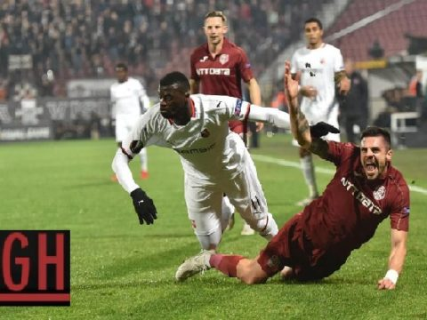 Cluj 1-0 Rennes - Watch goals and highlights football UEFA Europa League 2019-2020