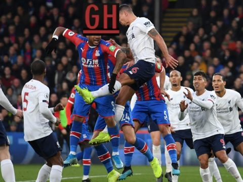 Crystal Palace 1-2 Liverpool - Watch goals and highlights football Premier League 2019-2020