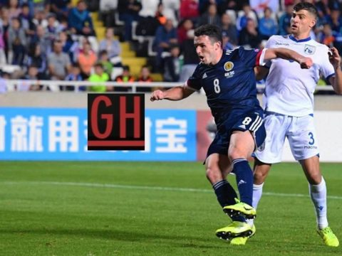 Cyprus 1-2 Scotland - Watch goals and highlights football EURO 2020 Qualifiers