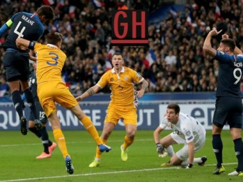 France 2-1 Moldovia - Watch goals and highlights football EURO 2020 Qualifiers