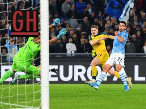 Lazio 1-2 Celtic - Watch goals and highlights football UEFA Europa League 2019-2020