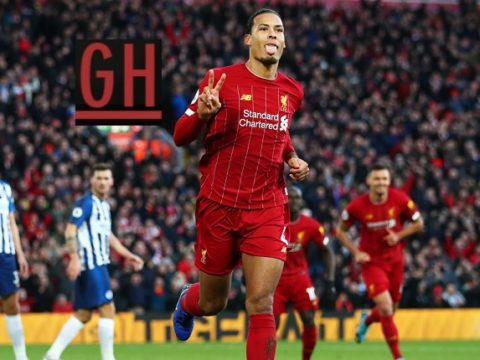 Liverpool 2-1 Brighton - Watch goals and highlights football Premier League 2019-2020