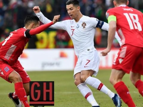 Luxembourg 0-2 Portugal - Watch goals and highlights football EURO 2020 Qualifiers