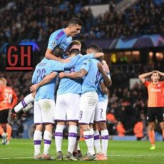 Manchester City 1-1 Shakhtar Donetsk - Watch goals and highlights football UEFA Champions League 2019-2020