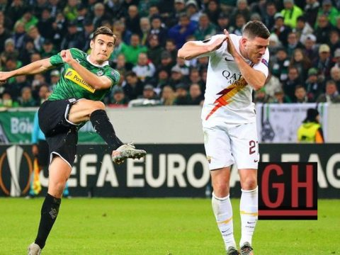 Monchengladbach 2-1 Roma - Watch goals and highlights football UEFA Europa League 2019-2020
