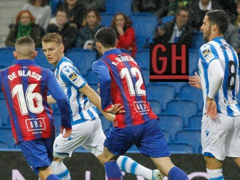 Real Sociedad 4-1 Eibar - Watch goals and highlights football LaLiga Santander 2019-2020