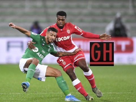Saint-Etienne 1-0 Monaco - Watch goals and highlights football Ligue 1 Conforama 2019-2020