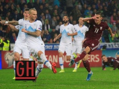 Slovenia 1-0 Latvia - Watch goals and highlights football EURO 2020 Qualifiers