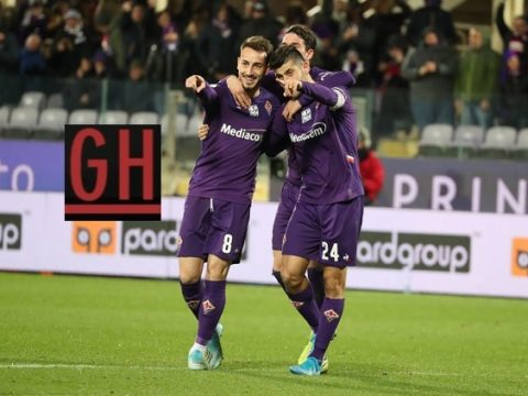 Fiorentina 2-0 Cittadella - Watch goals and highlights football Coppa Italia 2019-2020