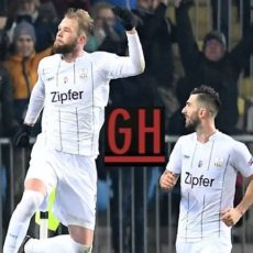 Linzer ASK 3-0 Sporting - UEFA Europa League 2019-2020 footballgh.org