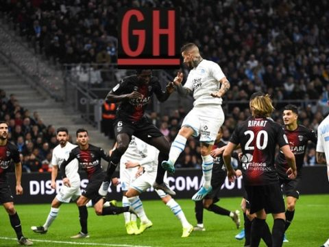 Marseille 3-1 Nimes - Ligue 1 Conforama 2019-2020 footballgh.org