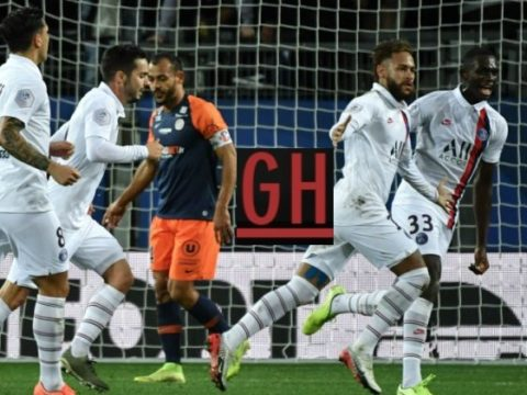 Montpellier 1-3 PSG - Ligue 1 Conforama 2019-2020 footballgh.org