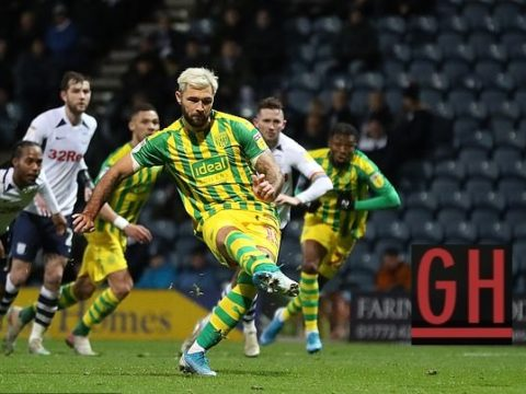 Preston 0-1 West Bromwich - Watch goals and highlights football Championship 2019-2020