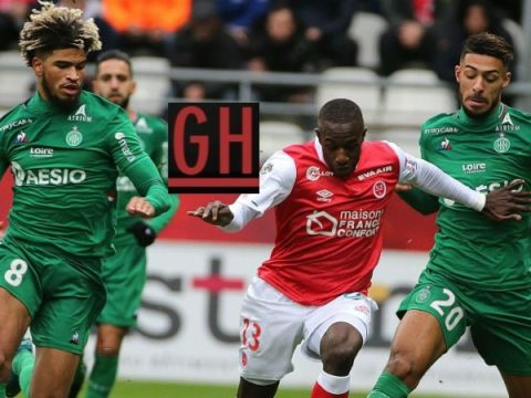 Reims 3-1 Saint-Etienne - Ligue 1 Conforama 2019-2020 footballgh.org