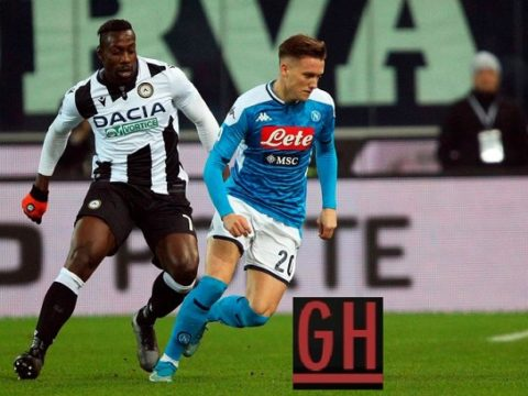 Udinese 1-1 Napoli - Serie A 2019-2020 footballgh.org