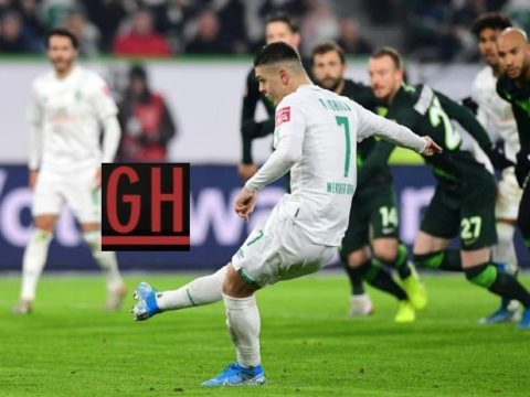 Wolfsburg 2-3 Werder Bremen - Watch goals and highlights football Bundesliga 2019-2020