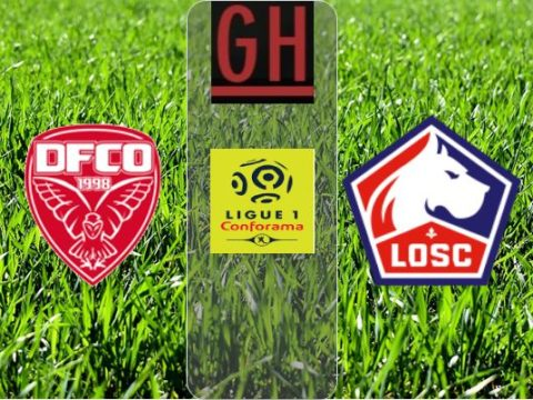 Dijon vs Lille - Ligue 1 Conforama 2019-2020 footballgh.org