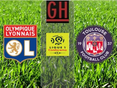 Lyon vs Toulouse - Ligue 1 Conforama 2019-2020 footballgh.org