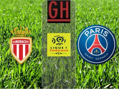 Monaco vs PSG - Ligue 1 Conforama 2019-2020 footballgh.org